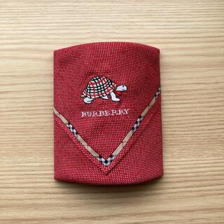 バーバリー(BURBERRY)のBurberryバーバリーハンカチ 刺繍(ハンカチ)