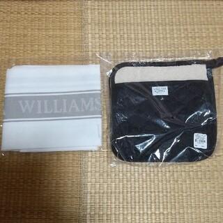 ウィリアムズソノマ(Williams-Sonoma)のウィリアムズソノマ キッチンタオル ラージ 鍋敷き ポットホルダー ブラック 黒(その他)