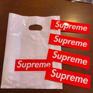 シュプリーム(Supreme)のSupreme ショッパー ステッカー(ショップ袋)