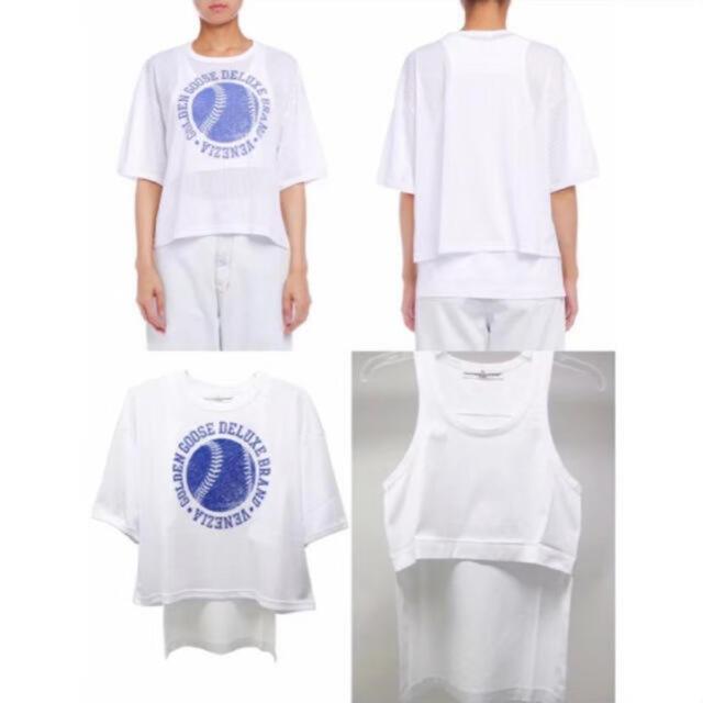 GOLDEN GOOSE(ゴールデングース)のGOLDEN GOOSE 半袖 Tシャツ レディースのトップス(カットソー(半袖/袖なし))の商品写真