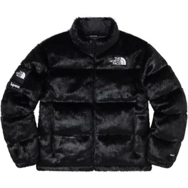 Supreme(シュプリーム)のザノースフェイス supreme ヌプシ 黒 メンズのジャケット/アウター(ダウンジャケット)の商品写真