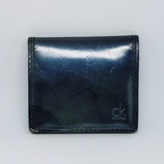 カルバンクライン(Calvin Klein)のカルバンクライン メンズ レザー 小銭入れ(コインケース/小銭入れ)