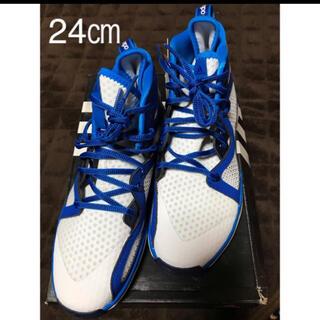 アディダス(adidas)のアディダス  アジゼロ スポーツ 運動靴 バッシュ 24(シューズ)