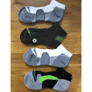ティンバーランド(Timberland)の新品 ティンバーランド timberlandメンズソックス 靴下4足セット148(ソックス)