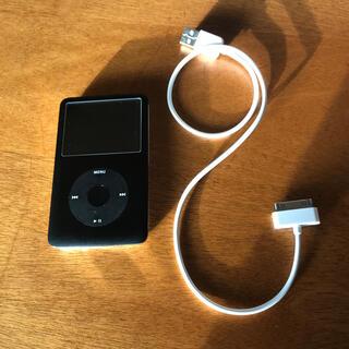 アップル(Apple)の美品iPod classic 80GB 第6世代(ポータブルプレーヤー)