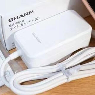 シャープ(SHARP)のAQUOS純正ACアダプタQUICK高速充電器(SH-AC05)(バッテリー/充電器)