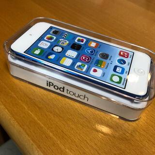 アップル(Apple)の【新品未開封品】Apple iPod touch 第6世代 16GB ブルー(ポータブルプレーヤー)