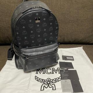 エムシーエム(MCM)のMCM バックパック リュック ブラック(リュック/バックパック)