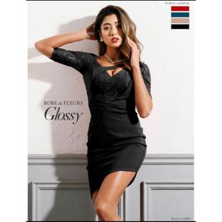 ローブ(ROBE)のROBE de FLEURS glossy・ドレス・七分袖(ナイトドレス)