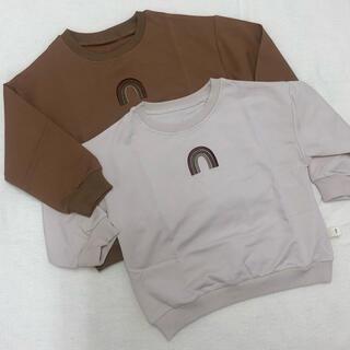 ✴︎虹スウェットtops✴︎(Tシャツ/カットソー)