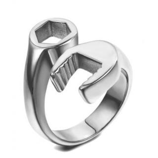 レンチリング スパナリング 指輪 工具 メンズ アクセサリー プレゼント