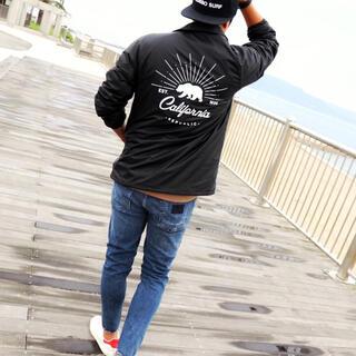 ステューシー(STUSSY)の西海岸系☆LUSSO SURF コーチジャケット Lサイズ☆RVCA(ナイロンジャケット)