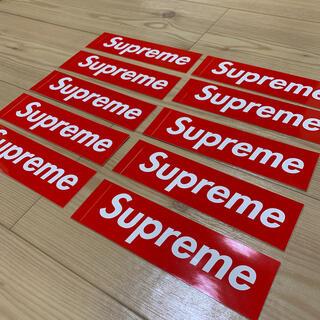 Supreme - SUPREME シュプリーム BOX LOGO ボックスロゴ ステッカー 10枚