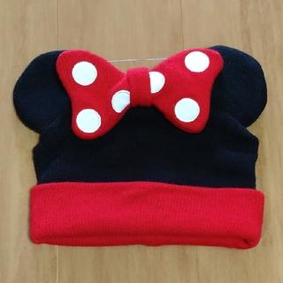 ディズニー(Disney)のミニーちゃんニット帽(ニット帽/ビーニー)