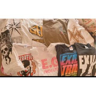 エグザイル トライブ(EXILE TRIBE)のEXILE LIVE Tシャツ(Tシャツ/カットソー(半袖/袖なし))