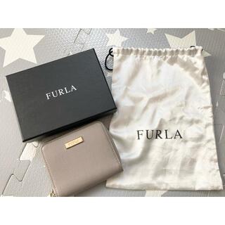 Furla - FURLA フルラ 折りたたみ財布 グレー
