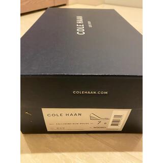 コールハーン(Cole Haan)のコールハーン ウェッジソールパンプス24cm(ハイヒール/パンプス)