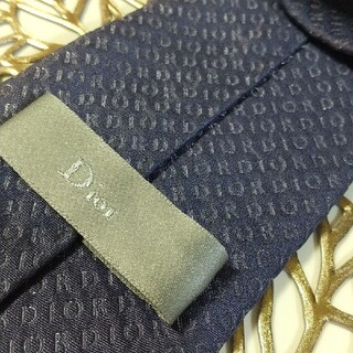 Christian Dior - ディオール 総ロゴ ネクタイ