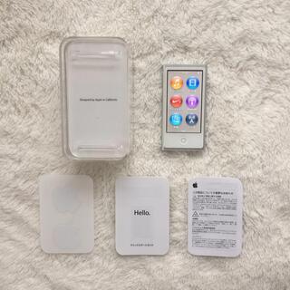 アップル(Apple)のiPodnano iPod nano アイポッド アイポッドナノ ナノ(ポータブルプレーヤー)