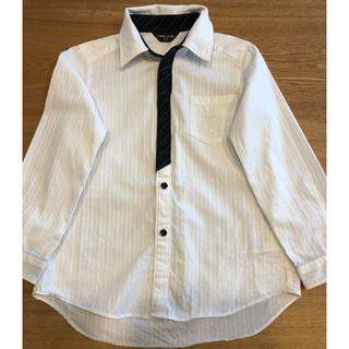 コムサイズム(COMME CA ISM)の【COMME CA ISM】セレモニー白シャツ120(Tシャツ/カットソー)