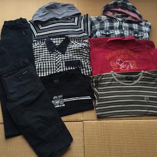 コムサイズム(COMME CA ISM)の美品130COMME CA ISM/8セット(Tシャツ/カットソー)