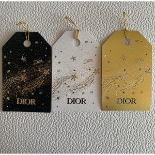 Dior - DIOR ディオール ギフト タグ しおり 3枚セット ノベルティ