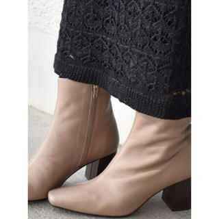 シップスフォーウィメン(SHIPS for women)のSHIPS FLAMENQUITAS:スクエアトゥミドルブーツ(ブーツ)