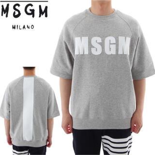 エムエスジイエム(MSGM)のMSGM 半袖 トレーナー 限定品(スウェット)