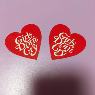 GDC - Girls Don't Cry ステッカー 2枚セット
