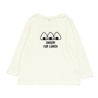 エフオーキッズ(F.O.KIDS)の新品 レディース おにぎりプリントTシャツMサイズ(Tシャツ(長袖/七分))