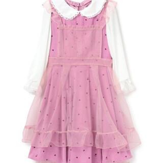 ロディスポット(LODISPOTTO)の 新品 Heartfulワンピース / mille fille closet(ひざ丈ワンピース)