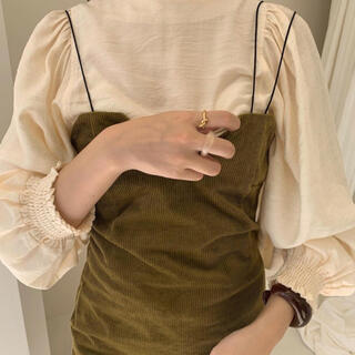 TODAYFUL - corduroy camisole one-piece * 新品未使用タグ付き