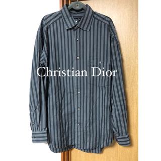 クリスチャンディオール(Christian Dior)のディオール ストライプシャツ(シャツ)