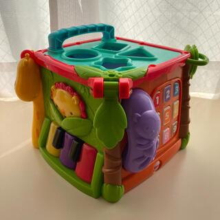 フィッシャープライス(Fisher-Price)の美品 知育玩具 フィッシャープライス  バイリンガル・ラーニングボックス(知育玩具)