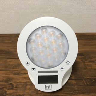 inti4s 光目覚まし時計 ホワイト(その他)