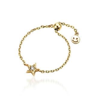 スタージュエリー(STAR JEWELRY)のstar jewelry girl チェーンリング(リング(指輪))