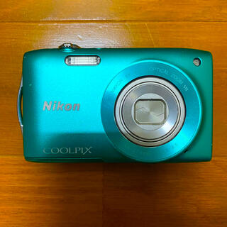 Nikon - Nikon デジタルカメラ COOLPIX S3300 ミントグリーン