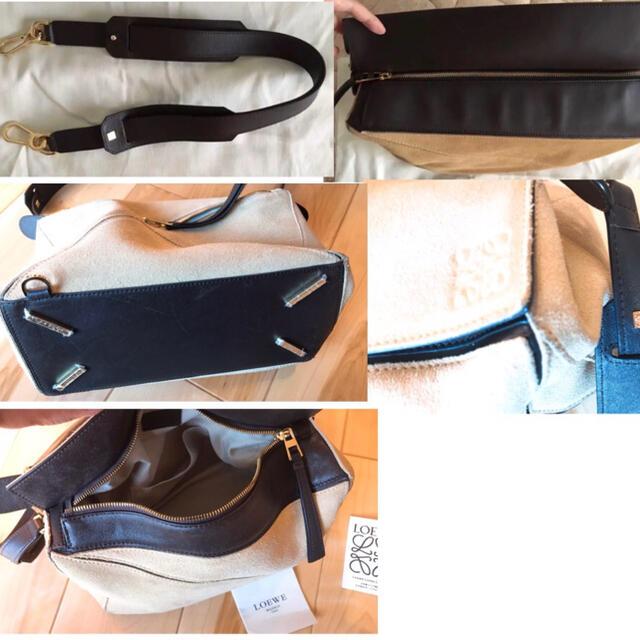 LOEWE(ロエベ)のLOEWE ロエベ パズルバッグ スエード☆ ハンドバッグ レディースのバッグ(ハンドバッグ)の商品写真