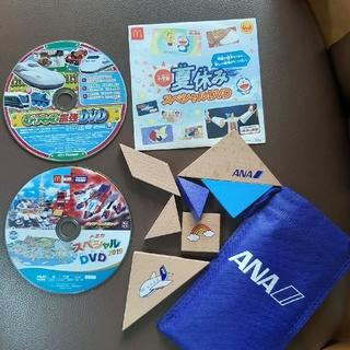 ガッケン(学研)ののりもの最強DVD&ANAタングラムセット(キッズ/ファミリー)