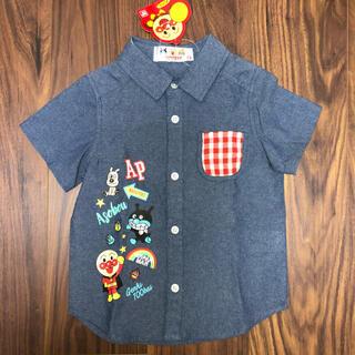 アンパンマン(アンパンマン)のアンパンマン デニムシャツ 半袖 100(Tシャツ/カットソー)