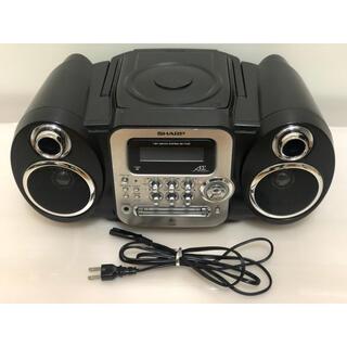 シャープ(SHARP)のSHARP 1ビットMD/CDシステムSD-FX20 ブラック系(ポータブルプレーヤー)