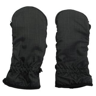 【SALE】【新品未使用】カイロが入る手袋 千鳥柄 メンズ ブラック(手袋)