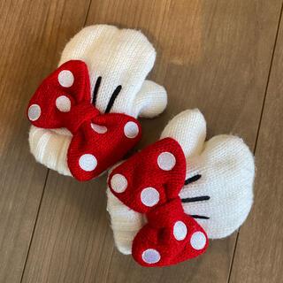 ディズニー(Disney)のディズニーランド購入 ミニーちゃん手袋(手袋)