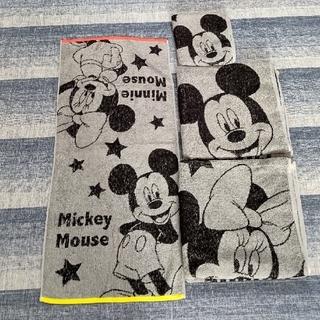 Disney - ミッキー&ミニー タオル4枚