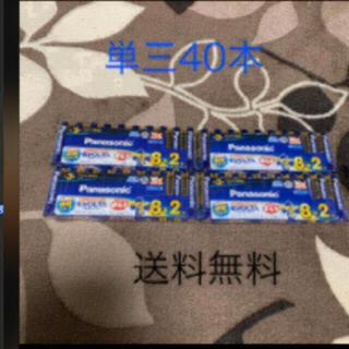 パナソニック(Panasonic)のパナソニック乾電池 EVOLTA単3形 8+2本パック×4P(その他)