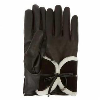 アグ(UGG)のCOMBO SHEEPSKIN TRIM GLOVE <5%オフしました>(手袋)