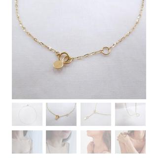 スピックアンドスパン(Spick and Span)のtwinkle chain necklace lui jewelry(ネックレス)