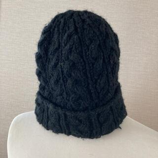 フリークスストア(FREAK'S STORE)のフリークスストア ニット帽 ブラック(ニット帽/ビーニー)