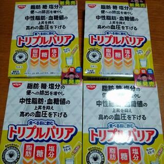 ニッシンショクヒン(日清食品)のトリプルバリア 青りんご味 5本入✕4箱(ダイエット食品)