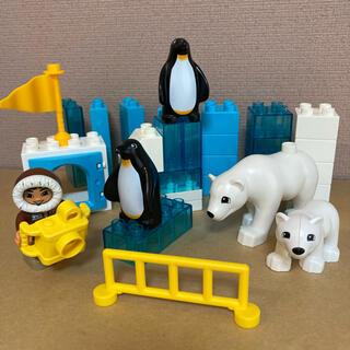 Lego - LEGO デュプロ しろくま親子とペンギン